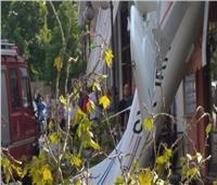 تحطم طائرة في مبنى بشمال اليونان دون وقوع إصابات