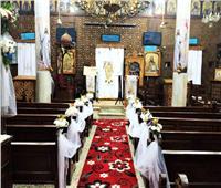 كنيسة العذراء دقادوس تستقبل الزائرين طوال أيام الإسبوع