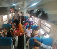 """""""السكة الحديد"""": نقلنا 608 آلاف راكب خلال 891 رحلة.. الأحد 3 أغسطس"""