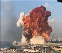 لبنان: أضرار كبيرة في وسط بيروت جراء الانفجار بالميناء البحري