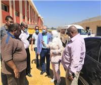 نائب محافظ القاهرة تتفقد سوق التونسي بحي البساتين