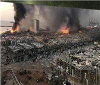 تضرر مبنى السفارة الروسية ببيروت جراء الانفجار وإصابة موظفة فيها