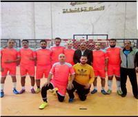 فريق محافظة الجيزة يواجه مصر المقاصة في دوري كرة القدم الخماسي
