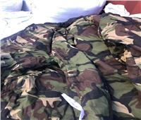 جمارك بورسعيد تضبط محاولة تهريب كمية من الملابس العسكرية