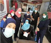 خروج ١٤ حالة كورونا من مستشفى قنا العام