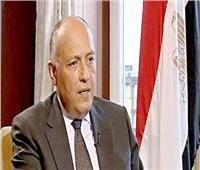 شكري يبحث هاتفيا مع وزيرة الخارجية الأسبانية مستجدات الأزمة الليبية والقضية الفلسطينية