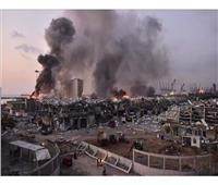 لبنان: فرق الإنقاذ تستعين بآليات وجرافات في عمليات البحث والإنقاذ بميناء بيروت