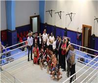 تدريب مشترك بين مصر واليمن في الكيك بوكسينج بالمركز الأولمبي