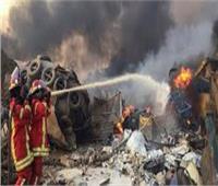 سفير مصر بلبنان يتفقد عمل المستشفى الميداني باستقبال جرحى انفجار ميناء بيروت