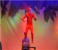 فقرات من السيرك القومي على مسرح محمد عبد الوهاب بالإسكندرية