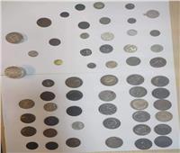 «جمارك مطار القاهرة» تضبط محاولة تهريب عدد من العملات الأثرية والتاريخية
