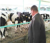 صور «الزراعة» زيارات مفاجئة لمتابعة عمل مزراع الثروة الحيوانية
