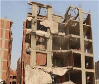 تحرير 21 محاضر مخالفة بناء بدون ترخيص بمراكز المنيا