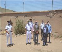 محافظ القليوبية ومدير الأمن يشهدان حملة إزالة مخالفات علي مساحة 15 ألف متر