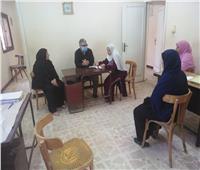 وكيل وزارة التضامن الاجتماعى بالقليوبية يتابع 3 وحدات ببنها