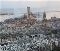 """""""دمار هائل""""... قناة لبنانية تنشر فيديو جديدا من داخل مرفأ بيروت بعد الانفجار"""