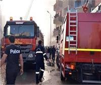 """""""النيابة"""" تعاين حريق داخل سنتر لبيع الملابس بمنطقة المقطم"""