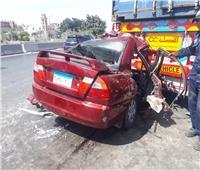 بالصور| مصرع 4 أشخاص وإصابة آخر من أسرة واحدة في حادث تصادم بالإسكندرية