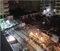 السيطرة على حريق منطقة التبة في مدينة نصر دون إصابات
