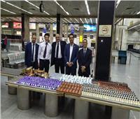 جمارك مطار القاهرة تضبط محاولة تهرب جمركي لكمية من مستحضرات التجميل