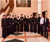 البابا تواضروس يجتمع بمجلس إدارة قطاع المقطم