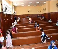بدء اختبارات القدرات لطلاب الثانوية وسط إجراءات احترازية بجامعة القناة
