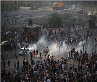 سماع دوي طلقات نار في موقع المظاهرات في وسط بيروت