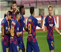فيديو| برشلونة يعبر نابولي إلى ربع نهائي دوري الأبطال