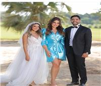 شاهد| هند عبد الحليم تحتفل بزفافها بحضور درة