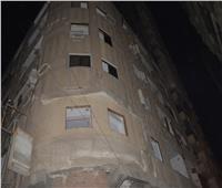محافظ الغربية :إخلاء سكان عقار آيل للسقوط بمدينة المحلة قبل انهياره