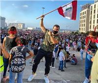 صور| سعد رمضان يشارك في مظاهرات لبنان: إرادتنا الأقوى
