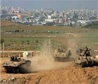 الاحتلال الإسرائيلي يقصف أراضي زراعية وموقعا وسط قطاع غزة