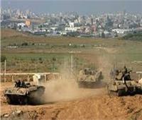 الاحتلال الإسرائيلي يقصف أراضٍ زراعية وسط قطاع غزة