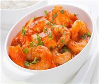 طبق اليوم.. «جمبري بصوص الطماطم»