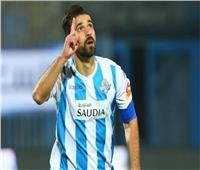 اتحاد الكرة يكرم عبد الله السعيد بمناسبة دخوله نادي الـ«100 هدف»