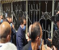 وزير التعليم العالي يتفقد مكتب تنسيق القبول بجامعة عين شمس