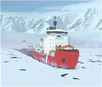 كتلة جليدية أم سفينة للأغنياء.. لغز يحير السوشيال ميديا