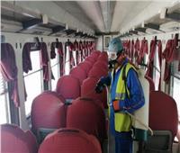 بالصور.. هيئة السكك الحديدية: نتخذ كافة الإجراءات الاحترازية لمواجهة فيروس كورونا