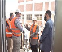 محافظ أسيوط يتفقد محطة المعالجة الثلاثية للصرف الصحي بشطب
