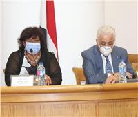 وزيرة الثقافة تعلن المشاركة في بنك المعرفة بكنوز ونوادر الإبداع المصري
