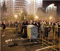 اشتباكات بين الشرطة ومحتجين بعاصمة روسيا البيضاء