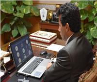 وزير الرياضة يدلي بصوته في انتخابات مجلس الشيوخ بالشروق.. غدًا