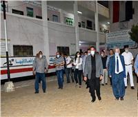محافظ البحيرة يتابع الاستعدادات النهائية بالمقار الانتخابية بمركز أبو حمص