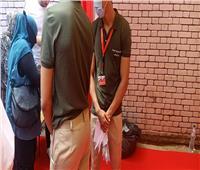 صور | شباب القائمة الوطنية الموحدة يوزعون الكمامات في انتخابات الشيوخ بمدينة نصر