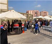 صور.. توافد الناخبين للإدلاء بأصواتهم في انتخابات الشيوخ بالأسمرات