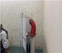 صور | كبار السن يتصدرون المشهد في انتخابات مجلس الشيوخ بمدينة نصر