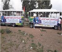 الطفطف لنقل الناخبين إلى اللجان بكفر الشيخ