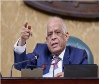 وصول رئيس البرلمان لمقر لجنته للإدلاء بصوته في انتخابات الشيوخ 