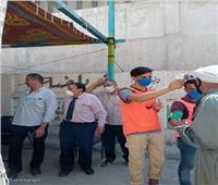 إجراءات احترازية ضد كورونا قبل دخول لجان انتخابات مجلس الشيوخ بالإسماعيلية
