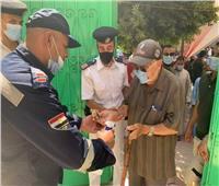 إقبال من الناخبين على التصويت بانتخابات الشيوخ في حلوان